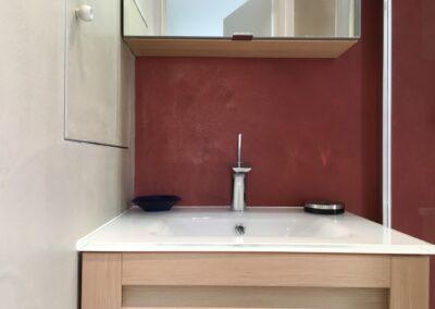 revêtement mural salle de bain