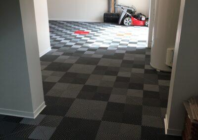 revêtement de sol garage