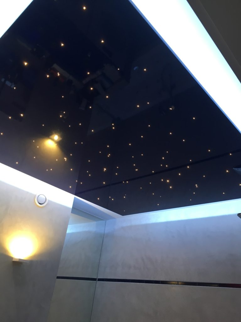 plafond avec LED
