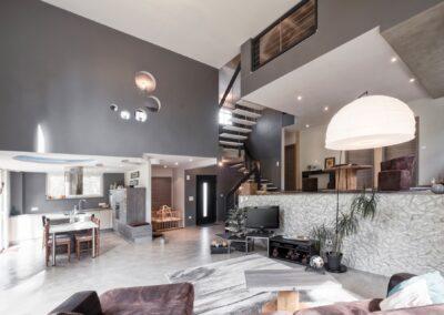 maison moderne en Alsace