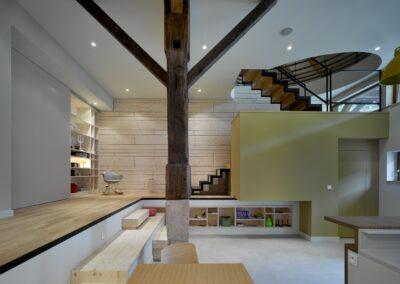 décoration moderne en bois